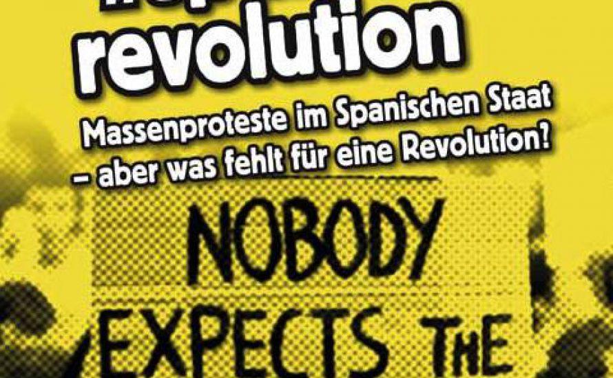 Veranstaltungen in Berlin und München: #spanishrevolution