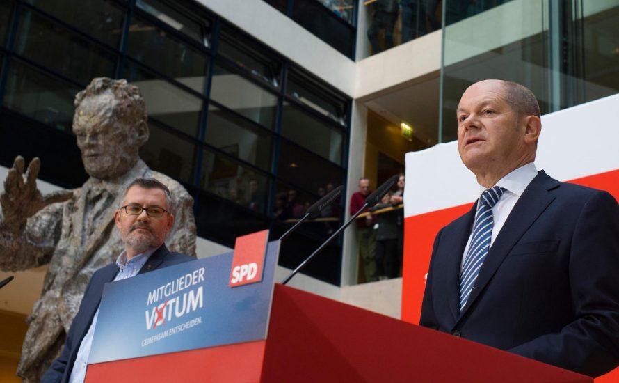 SPD stimmt für