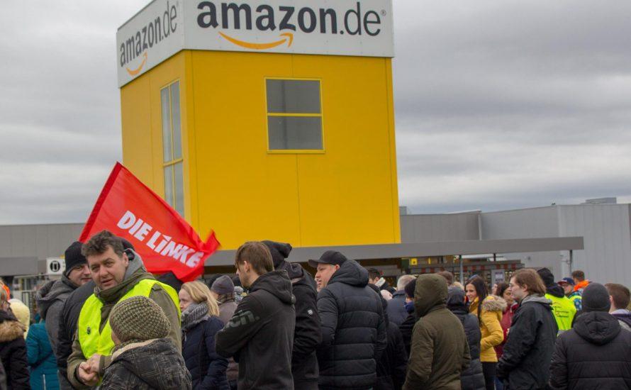 Streiks bei Amazon bis zum Ende des Jahres