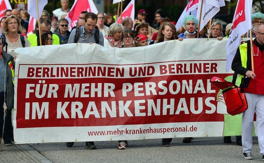 Berlin: Volksbegehren für mehr Personal in der Pflege gestartet