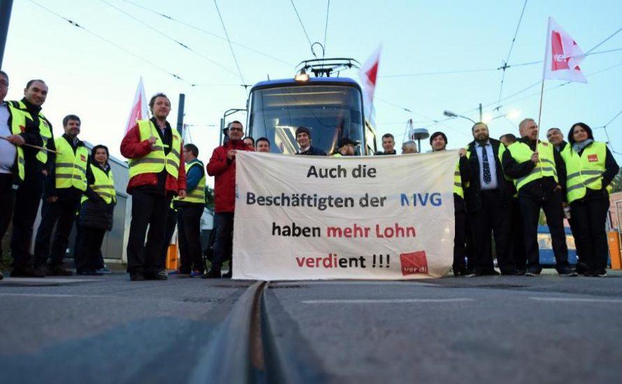Warum der MVG-Streik ein Streik für uns alle ist!