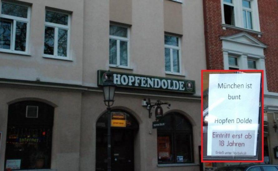 """Hopfendolde: """"Nazis sind hier nicht willkommen"""""""