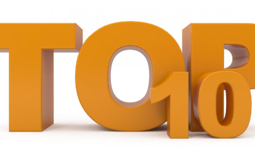 Top 10 im ersten Monat