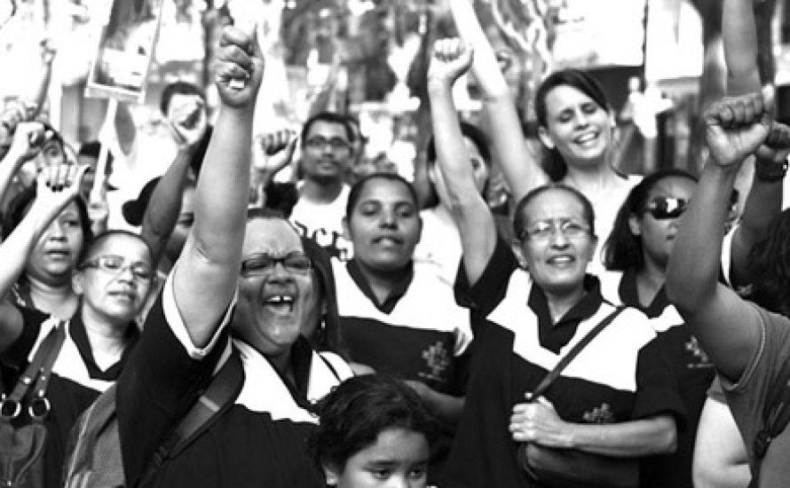 Kampf der Prekären der Uni São Paolo