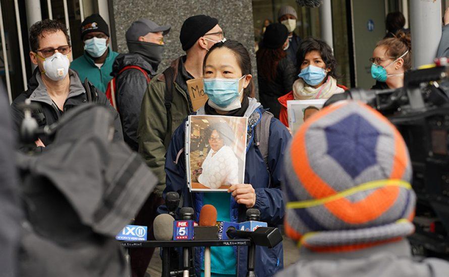 Tre Kwon, Krankenpflegerin in New York: