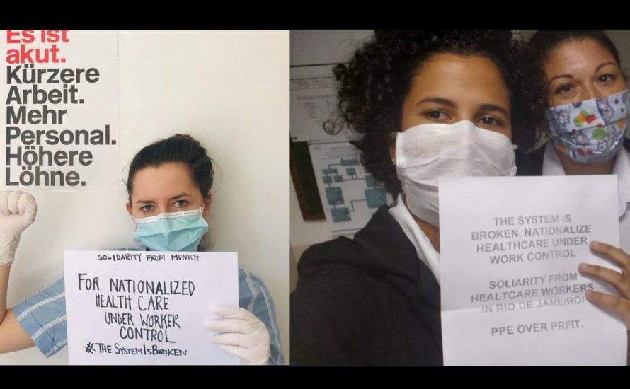 Internationale Solidarität für US-Krankenhausbeschäftigte
