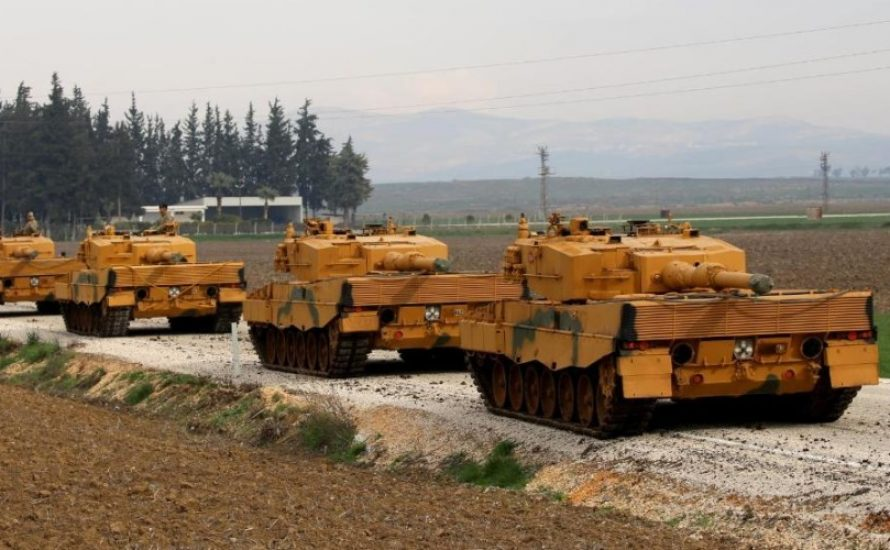 Bundesregierung weiß angeblich nichts vom Einsatz ihrer Panzer in Afrin