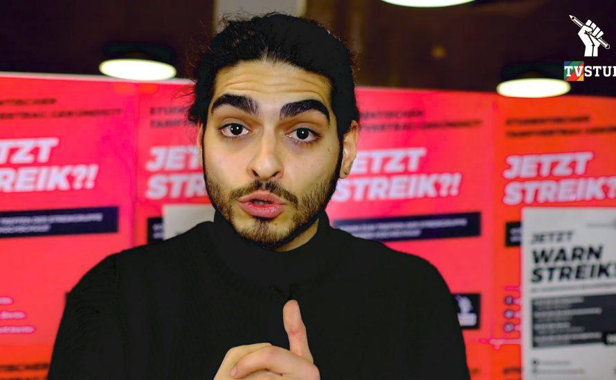 [Video] TVStud: Kommt zum Streik! Lasst euch nicht einschüchtern!