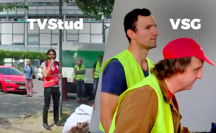 TVStud und VSG verstärken die gegenseitige Solidariät [mit Videos]