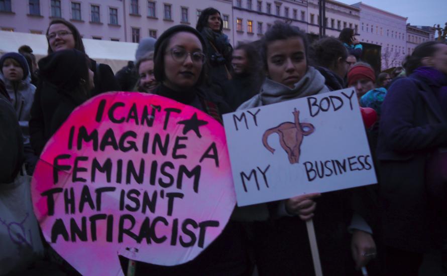 Berlin: 10.000 Menschen beim internationalen Frauenkampftag