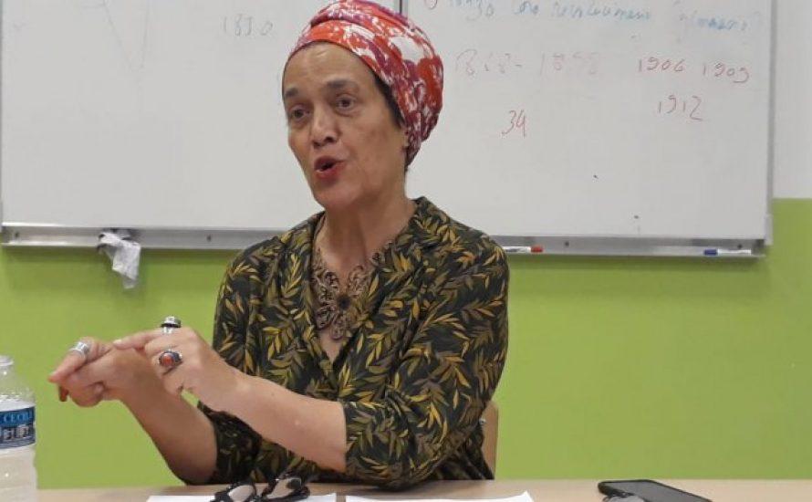 """Françoise Vergès: """"Ohne die Frauen, die die Welt putzen, kann nichts funktionieren"""""""