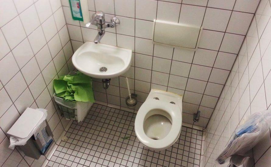 Toiletten verdrecken – Streik an der Charité ist zu spüren