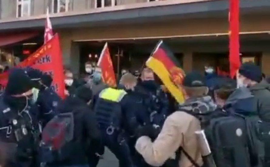Solidarität mit der Engels-Gedenkdemonstration in Wuppertal: Kampf der Polizeirepression!