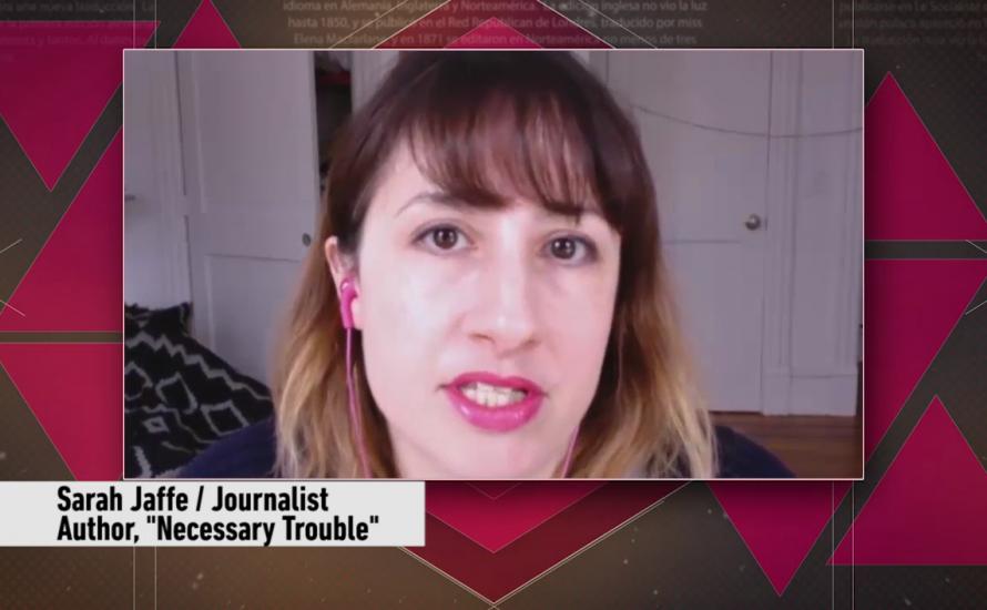 Sarah Jaffe: Trump, Resistance and the Democrats [Video, English]