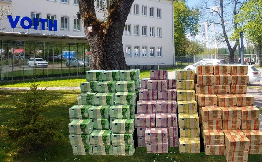 Vermögen der Voiths könnte 100 Jahre die Gehälter des schließenden Werks in Sonthofen zahlen.