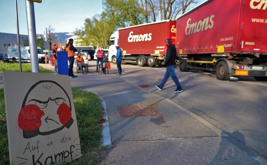Solidarität mit dem Streik bei Voith: Das Werk bleibt da!