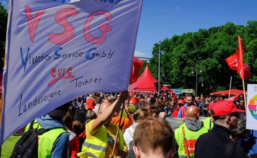 VSG-Streik: Senat spielt Gefährdung von Patient*innen herunter [mit Video]