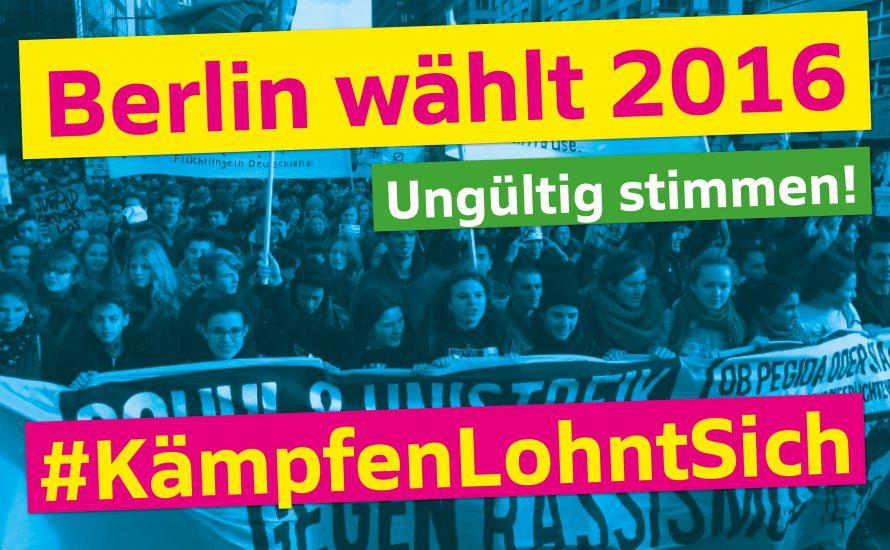 #KämpfenLohntSich: Keine der Parteien verdient unsere Stimme!