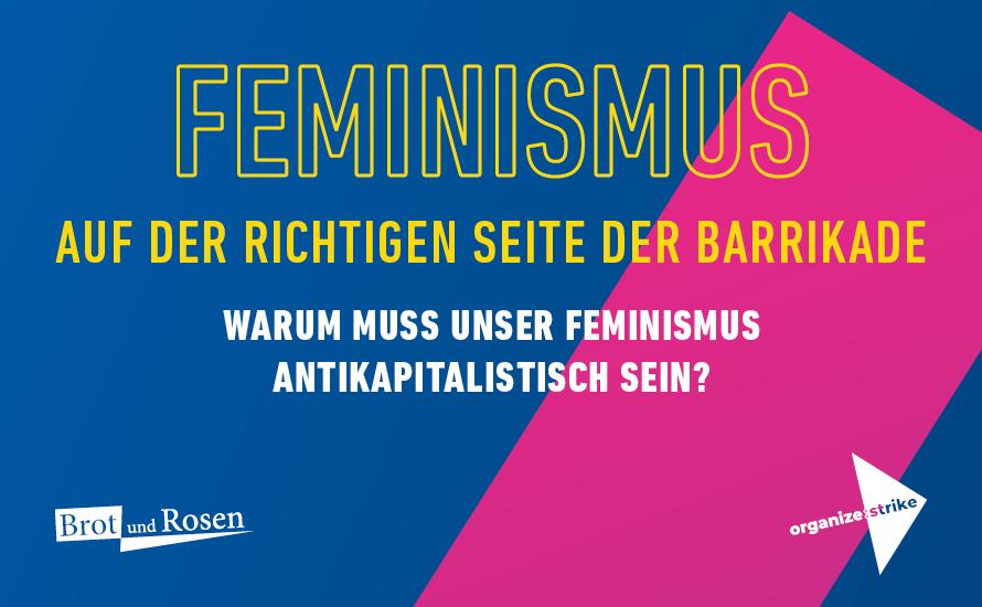 [Veranstaltung in Berlin] Feminismus auf der richtigen Seite der Barrikade!