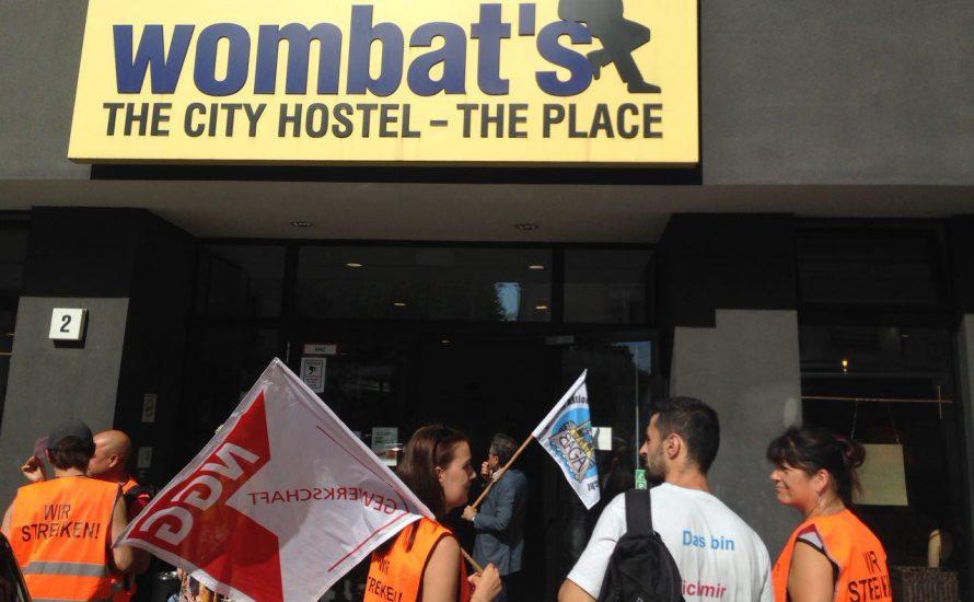 wombat's Hostel: Ungezwungen nach außen, Union Busting nach innen
