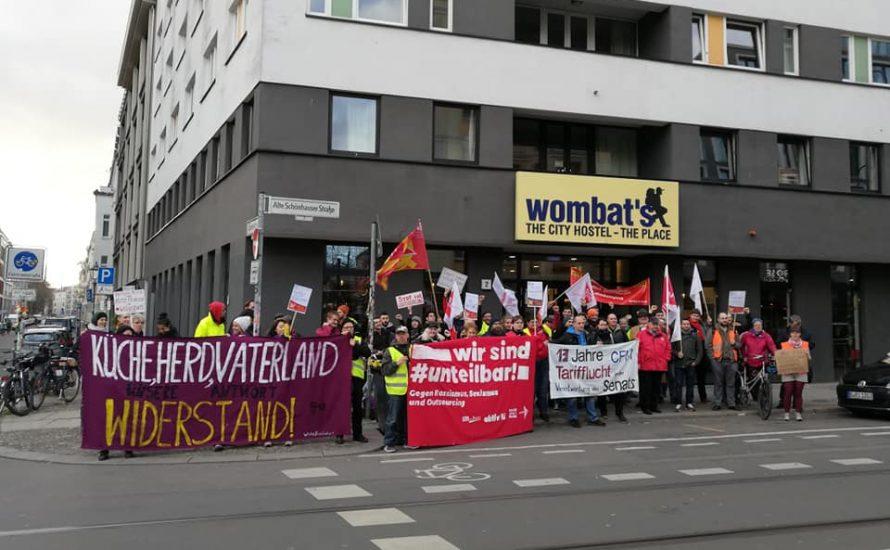 Solidarität: Schließung von wombat's Berlin verhindern!