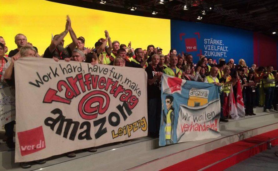 Amazon-Streiks gehen in eine neue Runde
